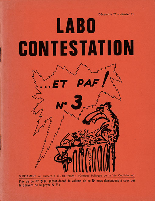 Labo Contestation n° 3