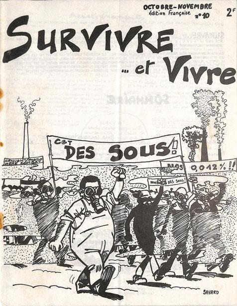 Survivre… et vivre n° 10