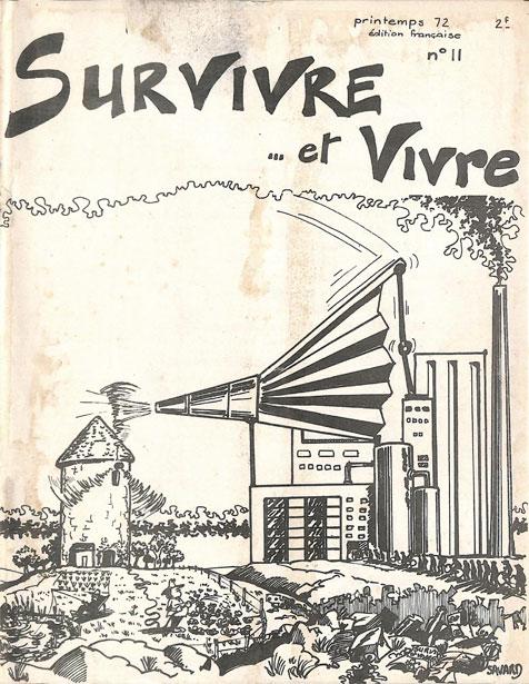 Survivre… et vivre n° 11